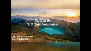 Download Mp3 Suratan Ou  Lirik Lagu Simalungun  - Voc : Sary Br Saragih