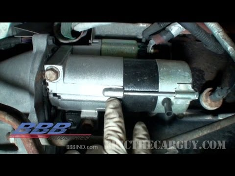 1993 Camaro Ignition Wiring Diagram How To Shim A Starter Ericthecarguy Youtube