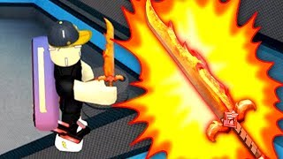 I GOT THE ANCIENT FLAMES!! *RARER THAN GODLY* (Roblox MM2)