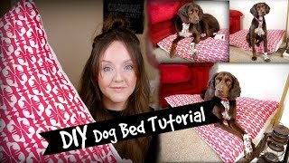 Simple Diy Dog Bed Tutorial