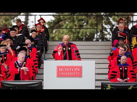US Congressman Rep. John Lewis: 2018 BU Commencement Speaker