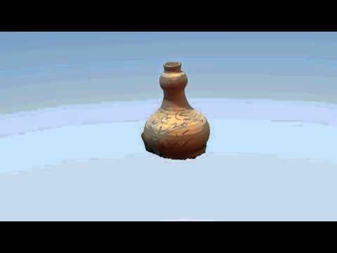 Oscar Asche Chu Chin Chow Ceramic Pot