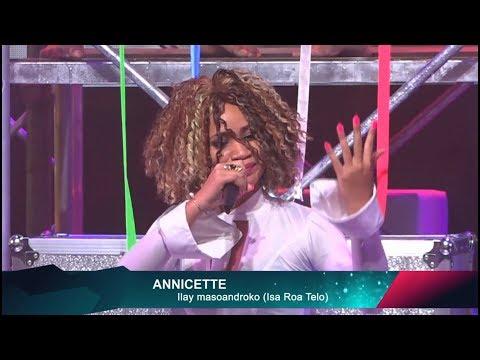 Annicette Pazzapa BG Demi final - ilay masoandroko (Isa Roa Telo)