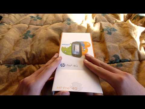 AT&T HP Pre3 4G unboxing!