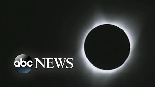 Crowds gather to witness solar eclipse in Oregon Free HD Video