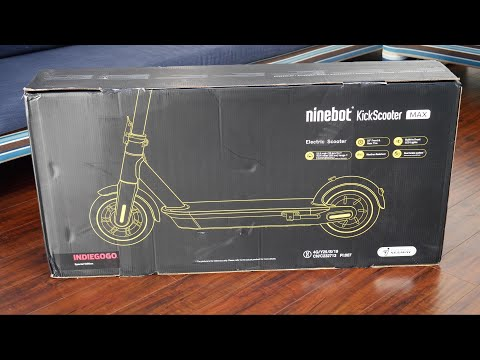 Ninebot Kickscooter MAX | Unboxing and Review