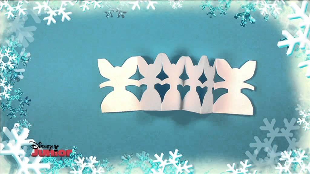 Creativo Natale Disney Junior Creiamo Una Catena Di Angeli Di