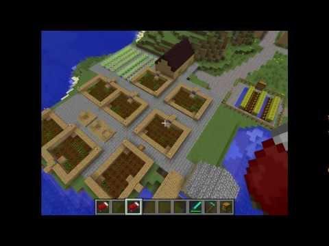 Minecraft inneneinrichtung modernes haus doovi - Minecraft inneneinrichtung ...
