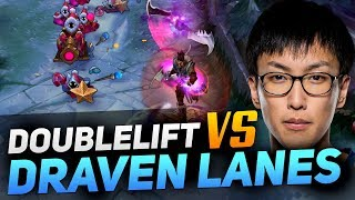 Learn How Doublelift Destroys OP Draven Lanes!