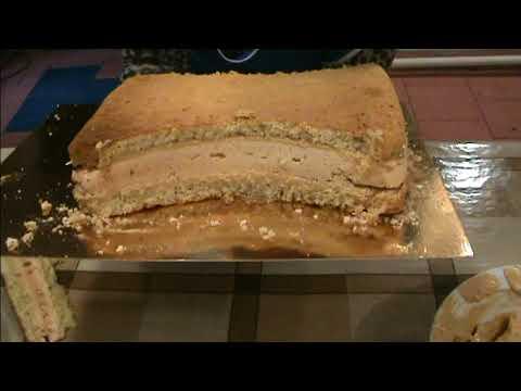 Сборка торта Букет