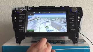 Штатная магнитола для Toyota camry/ Тайота камри
