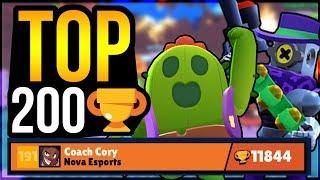 GEM GRAB TIPS! Crazy Comebacks + Top 200 ???? Gameplay! (Brawl Stars)
