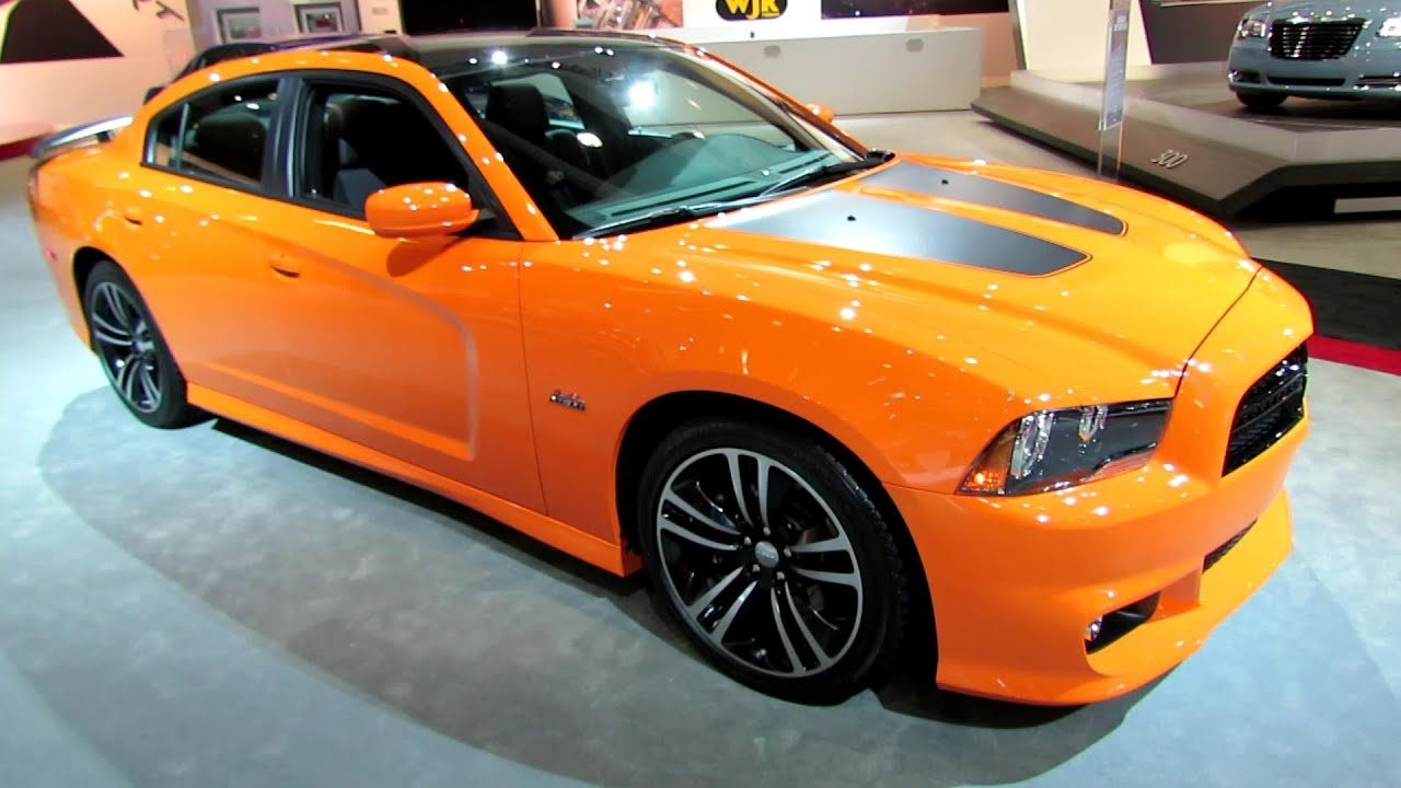2014 Dodge Charger Srt Super Bee  Exterior And Interior