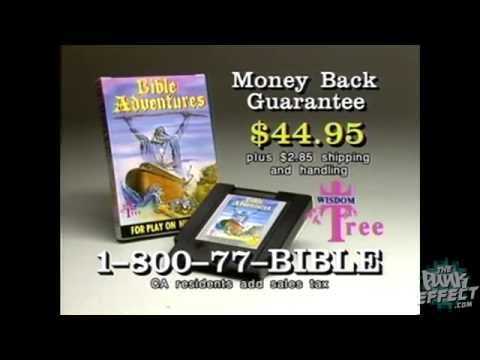 Bible Adventures NES TV Commercial (Wisdom Tree - 1990)