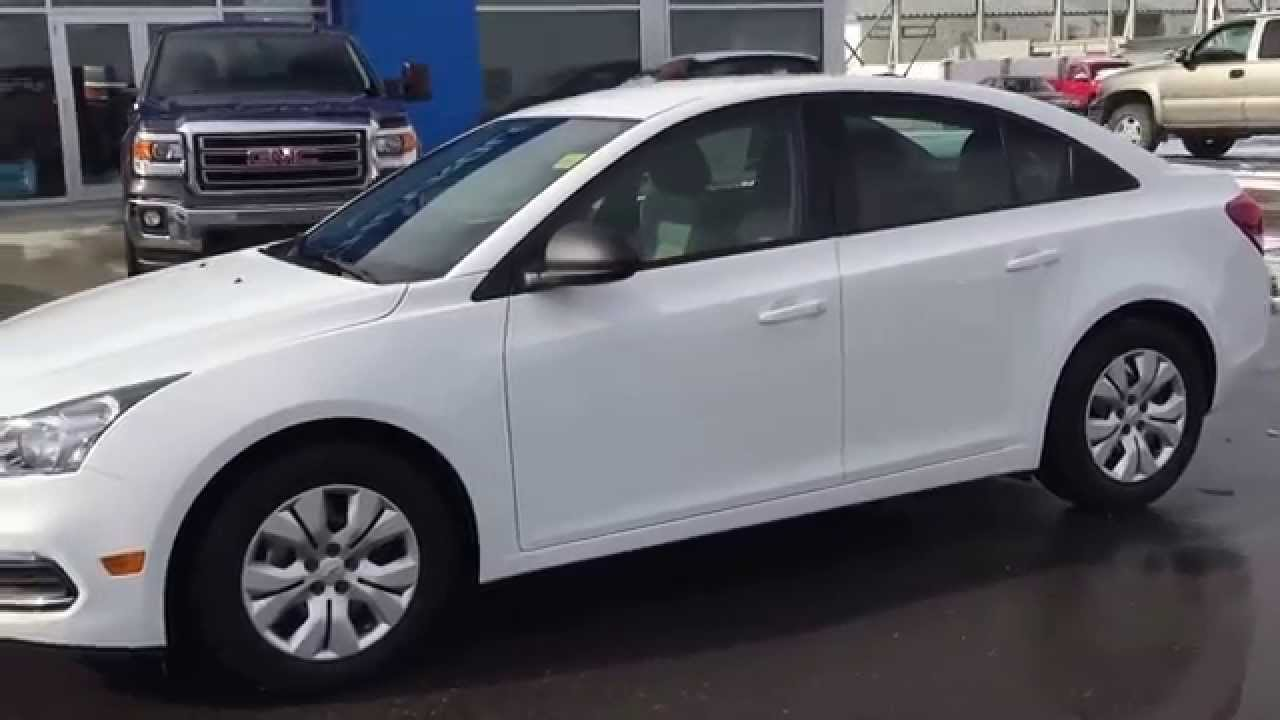 Cruze chevy cruze 2015 : White 2015 Chevrolet Cruze 1LS Sedan at Scougall Motors in Fort ...