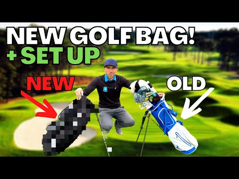 MY NEW GOLF BAG - REASONS WHY + ARRANGEMENT AND SET UP
