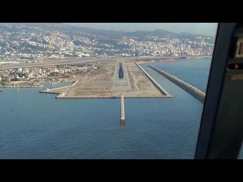 To and From Beirut Airport; Landing and Take-Off