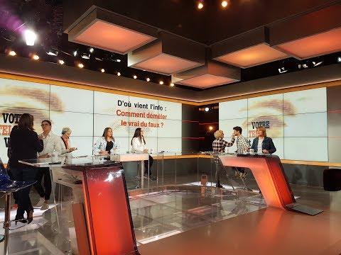 Des élèves du Lycée Rive Gauche participent à l'émission Votre Télé et Vous