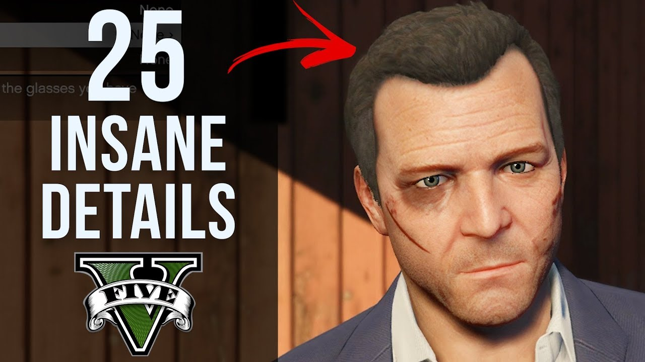 25 INSANE Details in GTA V