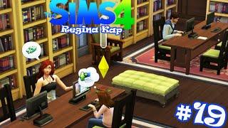 Let's Play The Sims4 #19 Она Блоггер... Все в библиотеку!!!