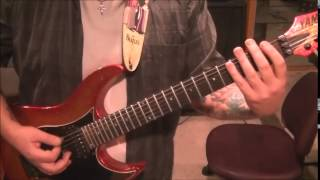 How to play Wait And Bleed by Slipknot on guitar by Mike Gross