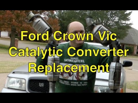 Ford Crown Vic & P71/P7B catalytic converters and O2 sensor replacement Mp3