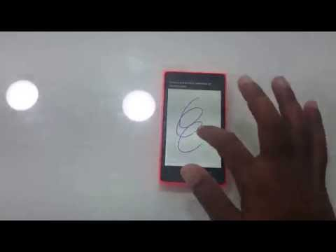Nokia X2 Touch Screen Test