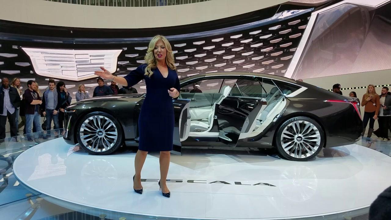 Cadillac Escala in North America auto show 2017 - YouTube
