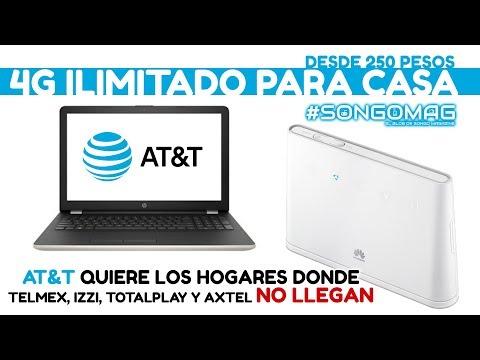 AT&T ofrece 4G para tu casa
