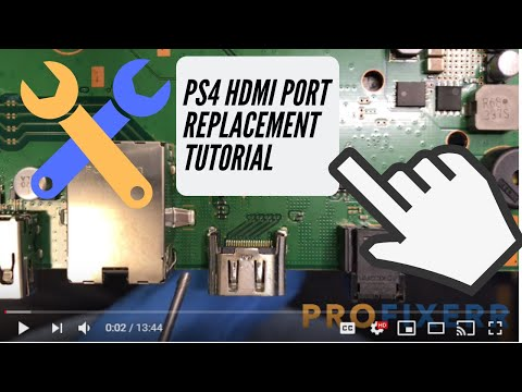 PS4 HDMI Port Replacement Tutorial - Detailed Instructions