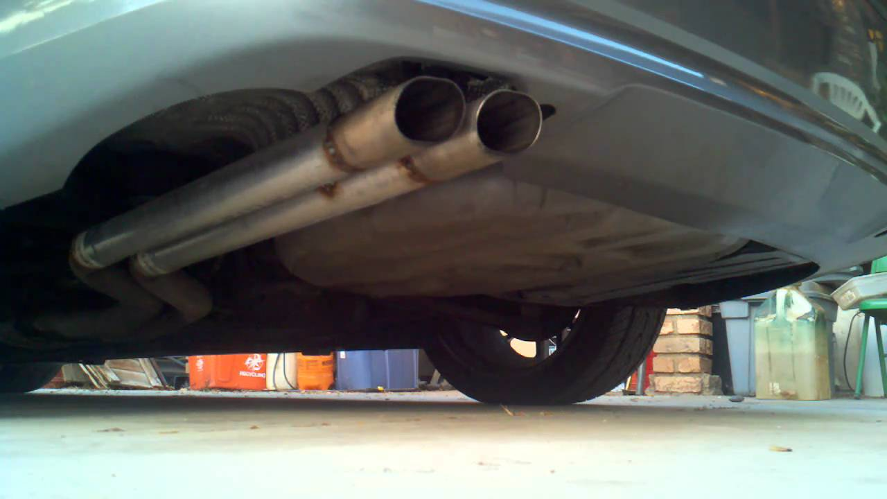 Bmw 325i Muffler Delete Youtube