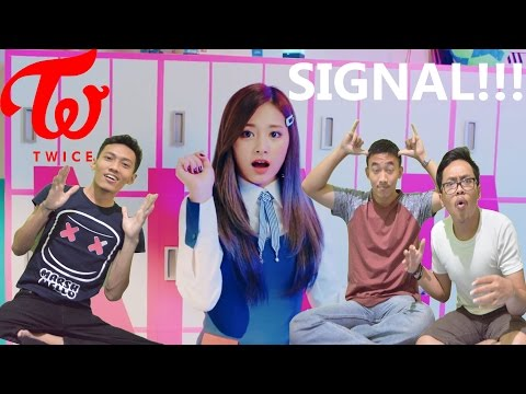 Thumbnail: TWICE - SIGNAL MV REACTION ( BEST TWICE MV SO FAR ) TZUYU♥