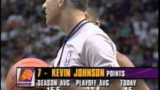 houston rockets vs. suns 1995 kiss of death