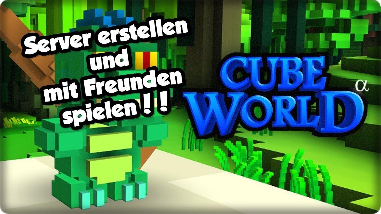 TUTORIAL Cube World Server Erstellen Und Mit Freunden Spielen - Minecraft server erstellen und mit freunden spielen