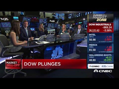 Dow Jones Today, Stocks Dive: Oil Prices, Bond Yields Tumble As ...
