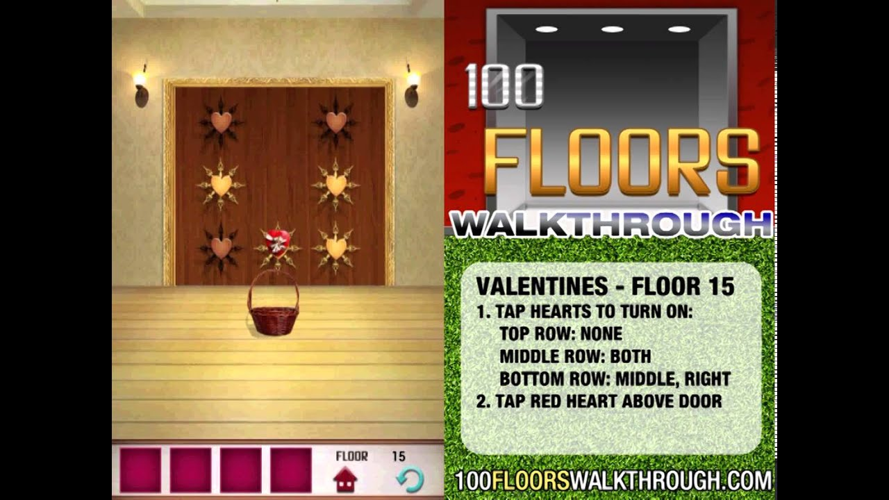100 Floors Valentines Special Floor 15 Seasons Tower