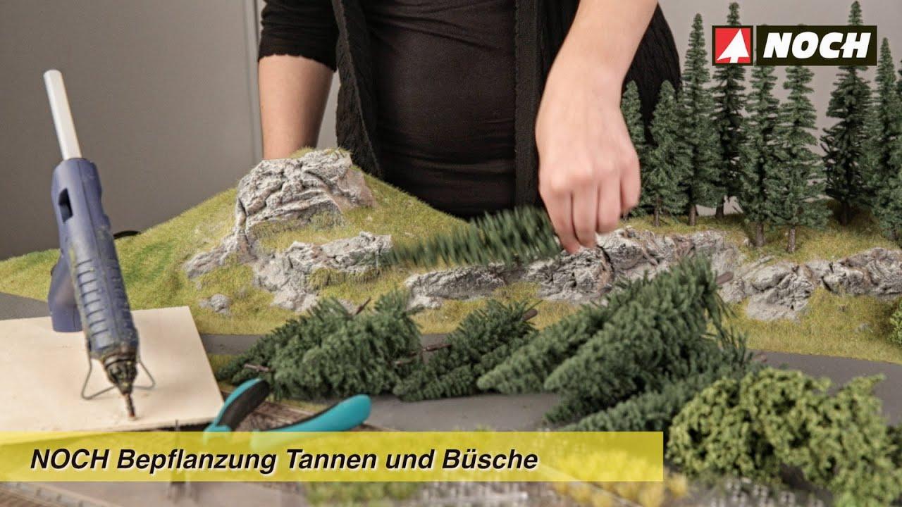 Noch modellbau bepflanzung tannen und b sche youtube for Bilder fa r jugendzimmer