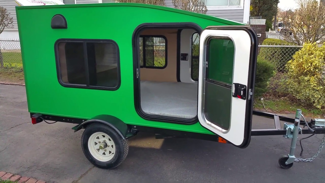 My Mini Trailer, Most Affordable Mini Camper Trailer, Model Serenity X   Custom Color