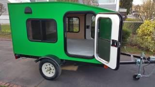 My Mini Trailer, Most Affordable Mini Camper Trailer, Model Serenity X. Custom Color