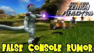 Dragon Ball Z Zenkai Battle Royale FALSE Console Rumor: No PS4, Xbox One, & PC Plans (Yet)