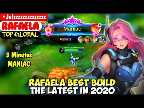 RAFAELA BEST BUILD IN 2020   TOP GLOBAL RAFAELA •Julzzzzzzzzzzzzzz - MOBILE LEGENDS