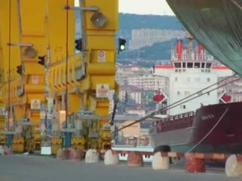 Video Trieste Marine Terminal