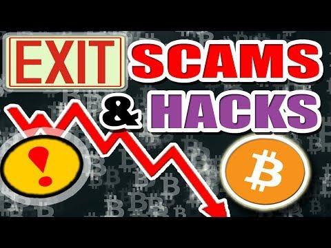 Cryptocurrency Exit Scams, Fraudulent ICO's, Exchange Hacks - Buyer Beware!
