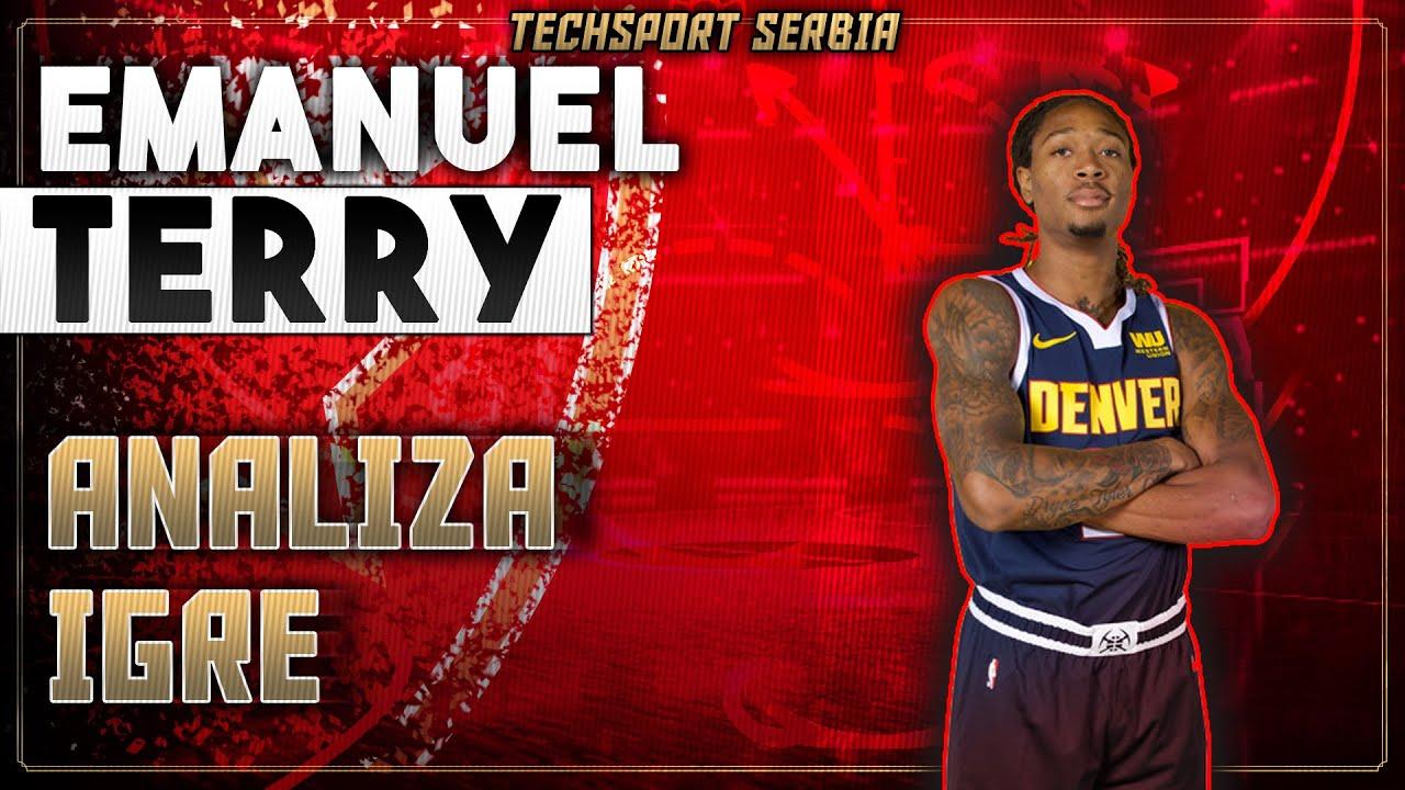 Emanuel Terry - Analiza igre | KK Crvena zvezda 2020/21