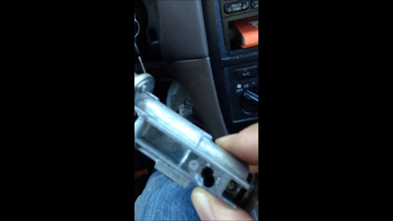 Drilling out an Ignition Lock when NOT able to place in the ACC ...