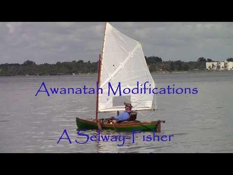 Selway-Fisher 50/50 Sailing Canoe Awanatah Modifications