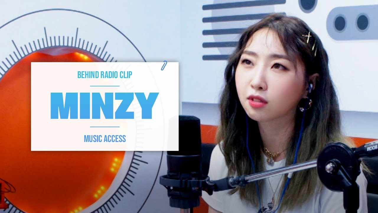 [Pops in Seoul] ♦︎Behind 📻Radio Clip♦︎ MINZY(공민지)'s Key Word Interview~❤︎
