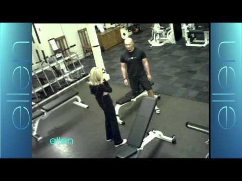 Kristin Chenoweth Pranks the WB Gym