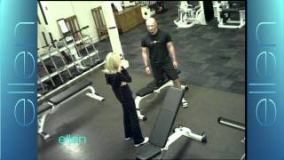 Kristin Chenoweth Pranks the WB Gym