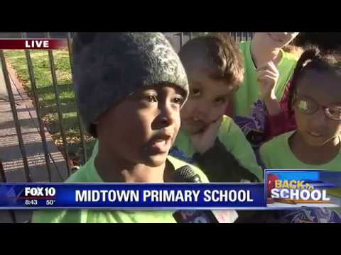 Back to school: Midtown Primary School